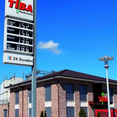 Traditions-Tankstelle