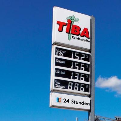 Tiba Tankstelle